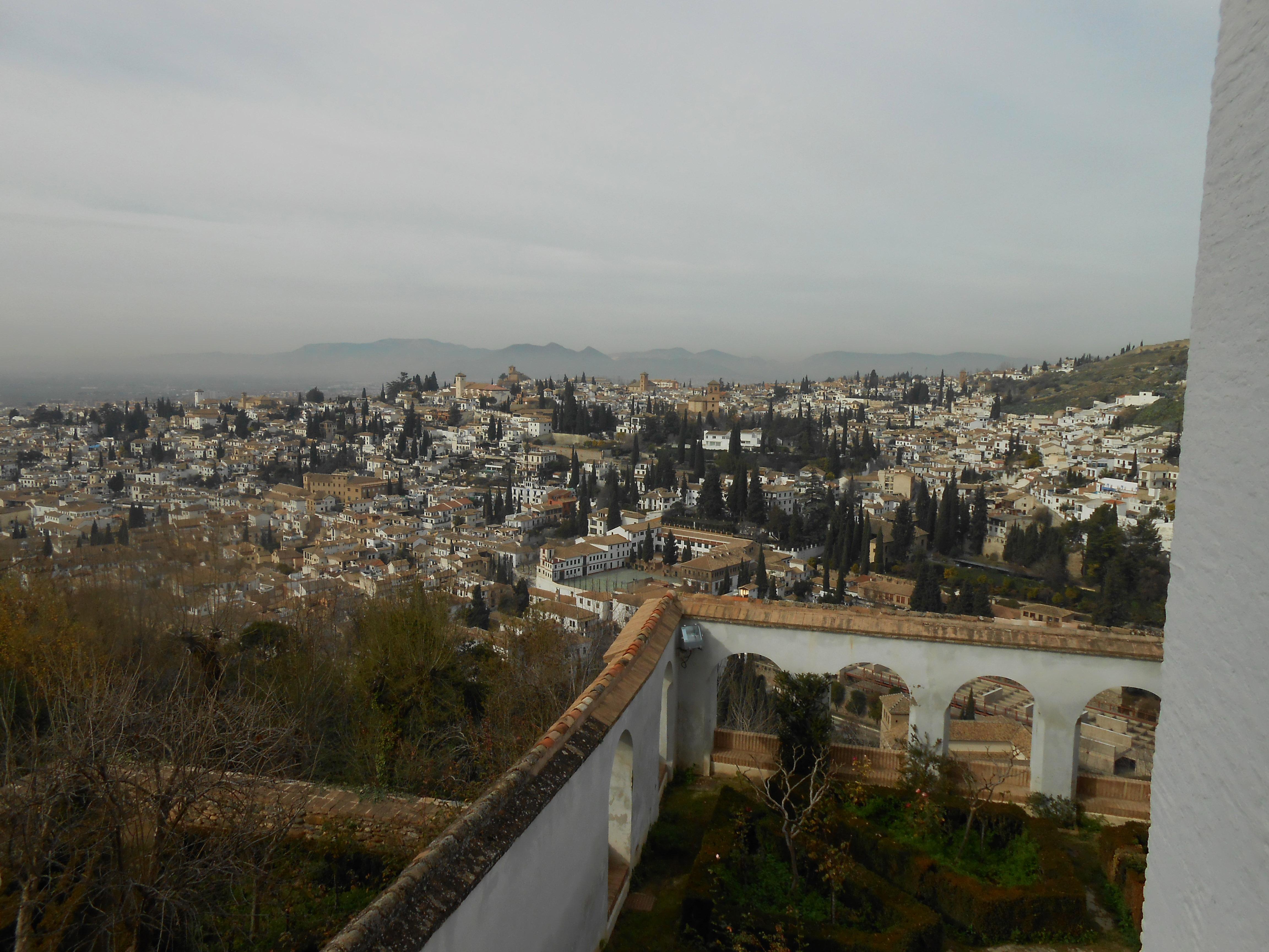 Granada vom Alhambra